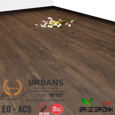 Sàn gỗ UrbansFloor 8mm UB305