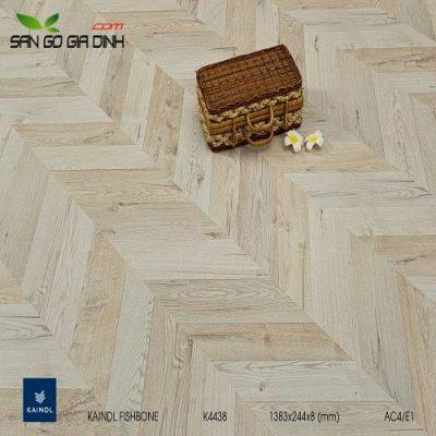 Sàn gỗ Kaindl Xương cá K4438